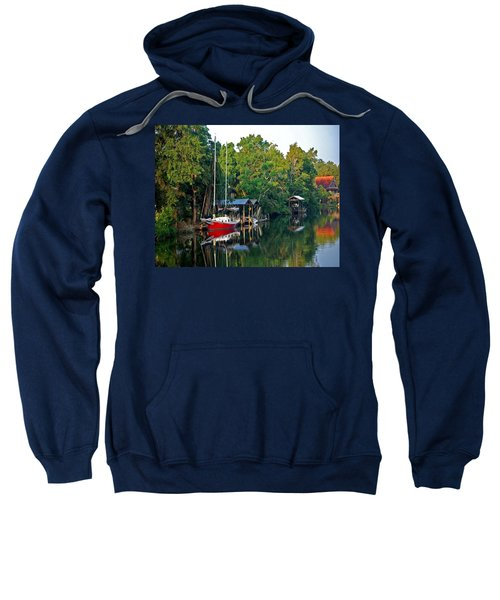 Magnolia Red Boat Sweatshirt