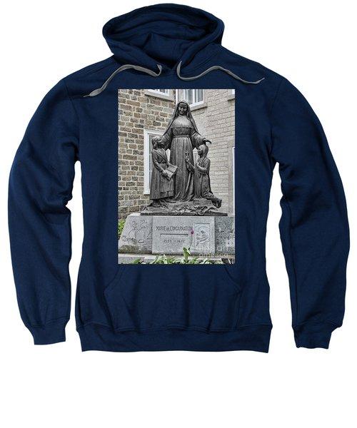 Marie De L Incarnation Sculpture Sweatshirt