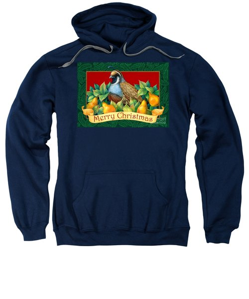 Merry Christmas Partridge Sweatshirt