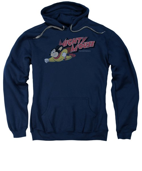 Mighty Mouse - Mighty Retro Sweatshirt by Brand A