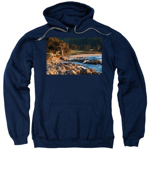Monastery Beach In Carmel California Sweatshirt