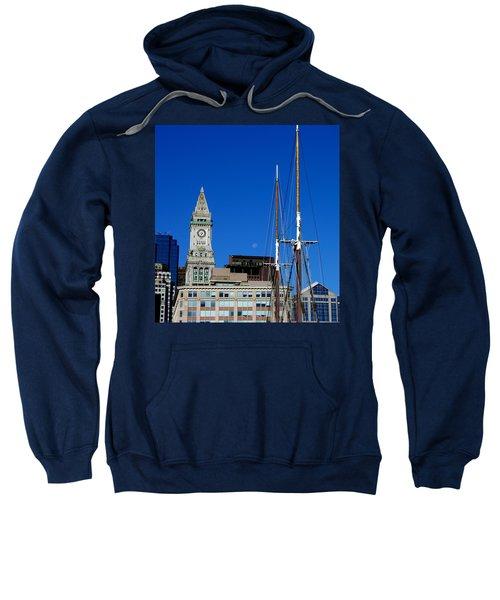 Moon Over Boston Sweatshirt