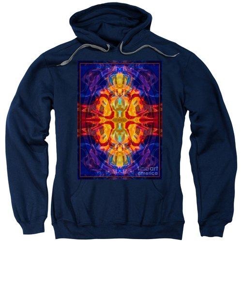 Mother Of Eternity Abstract Living Artwork Sweatshirt