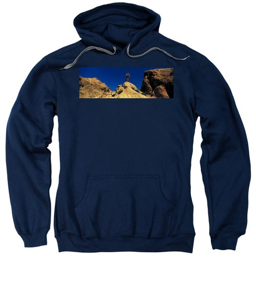 Mountain Bikers Ca Usa Sweatshirt
