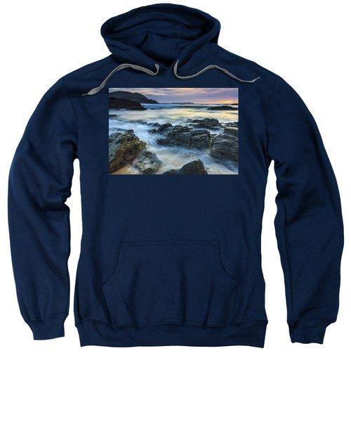 Mourillar Beach Galicia Spain Sweatshirt