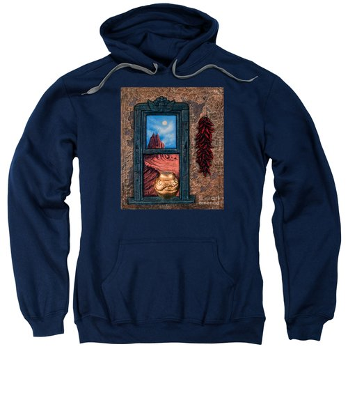 New Mexico Window Gold Sweatshirt