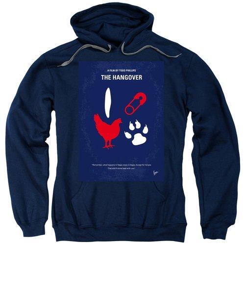 No145 My The Hangover Minimal Movie Poster Sweatshirt