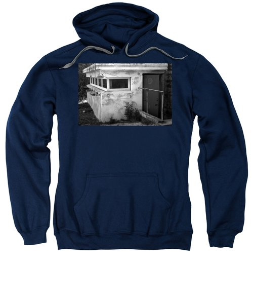 Sweatshirt featuring the photograph Old Army Lookout by Miroslava Jurcik
