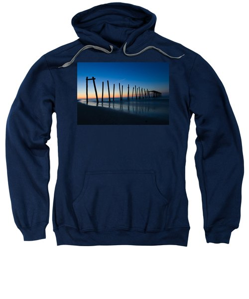 Old Broken 59th Street Pier Sweatshirt