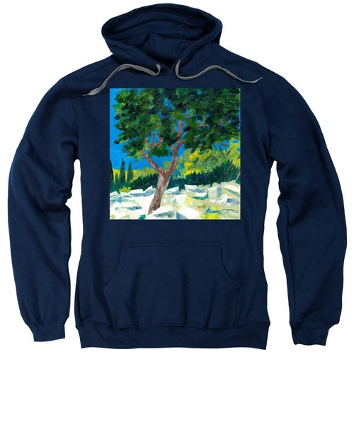 Old Ruins At Rhodes Sweatshirt