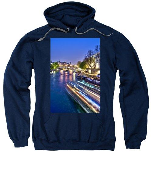 Paris Blues Sweatshirt