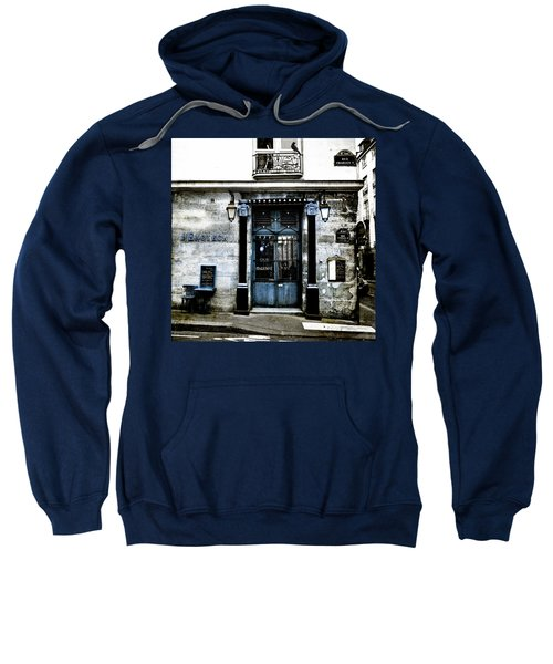 Paris Blues Sweatshirt
