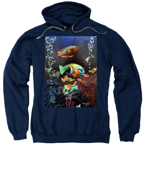 Parrot Fish Sweatshirt