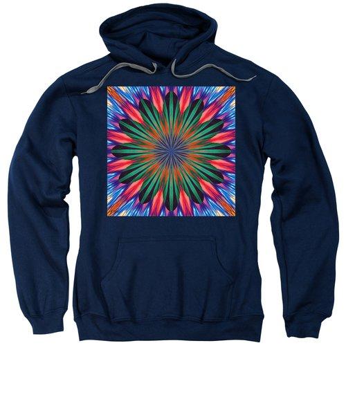 Passion Flower On Venus Sweatshirt