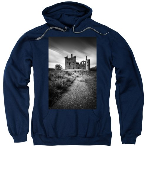 Path To Kilchurn Castle Sweatshirt