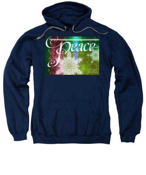Peace Greeting Sweatshirt