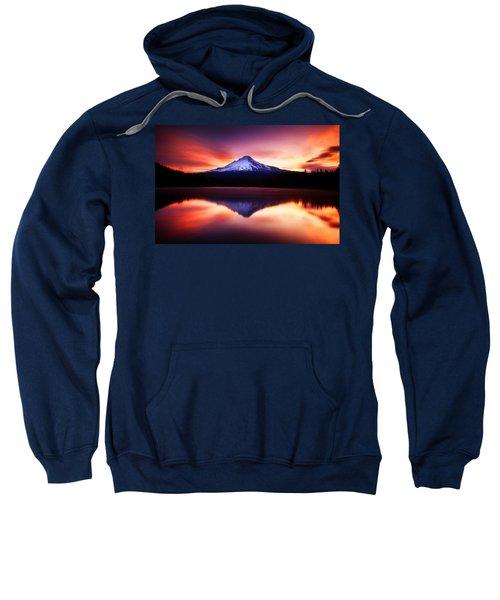 Peaceful Morning On The Lake Sweatshirt