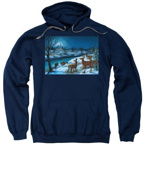 Peaceful Winters Night Sweatshirt