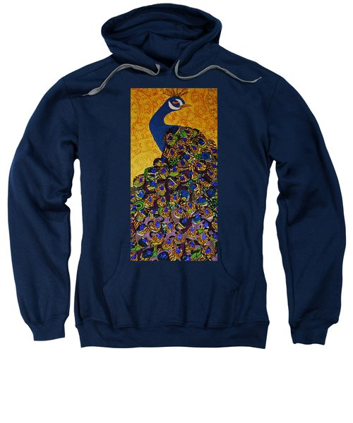 Peacock Blue Sweatshirt