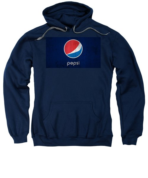 Sweatshirt featuring the photograph Pepsi Barn Sign by Dan Sproul