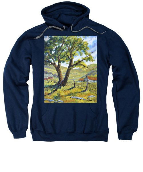 Picnic With A View By Prankearts Sweatshirt