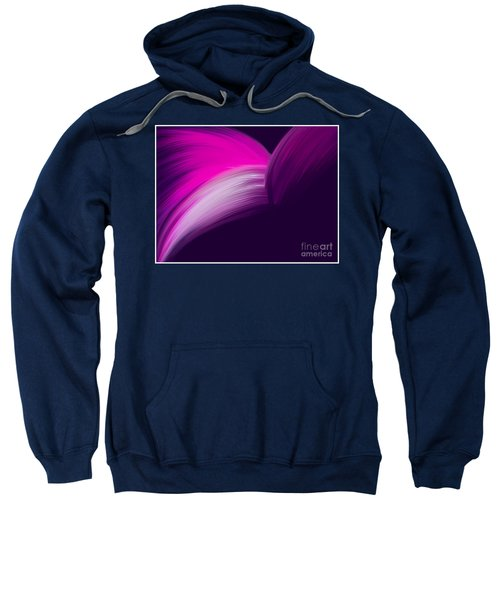 Pink And Purple Curves Sweatshirt