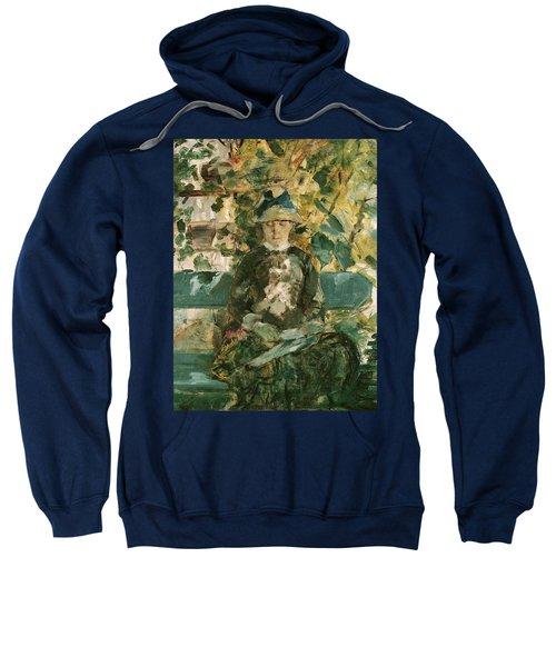 Portrait Of Adele Tapie De Celeyran Sweatshirt by Henri de Toulouse-Lautrec