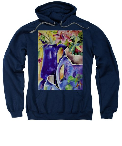 Pottery And Flowers Sweatshirt