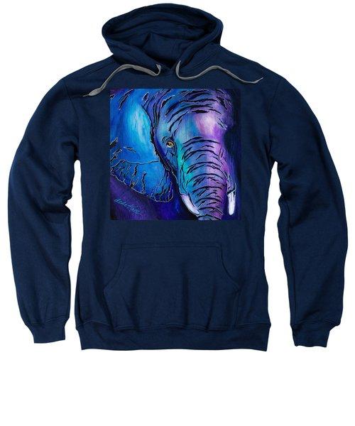 Purple Elephant Sweatshirt