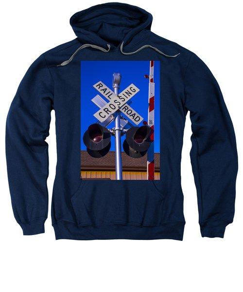 Railroad Crossing Sweatshirt