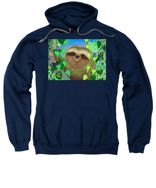 Rain Forest Sloth Sweatshirt