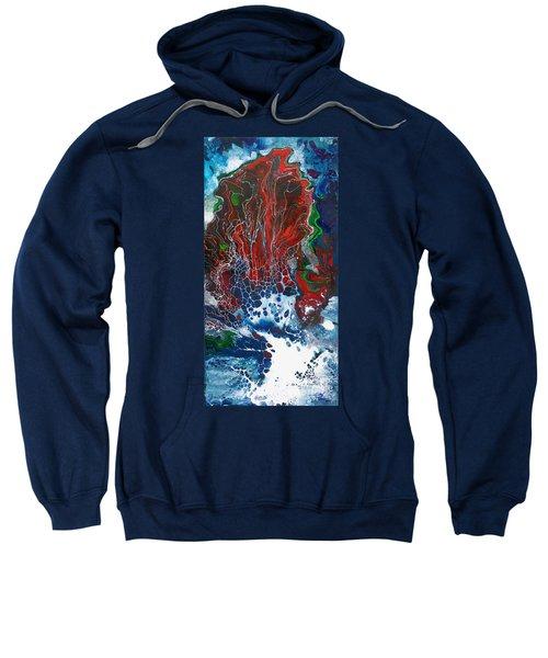 Red Fan Coral Sweatshirt