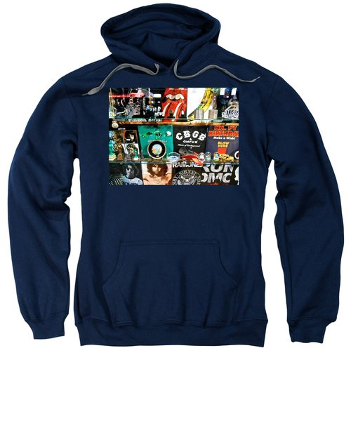 Rock And Roll On St. Marks   Nyc Sweatshirt