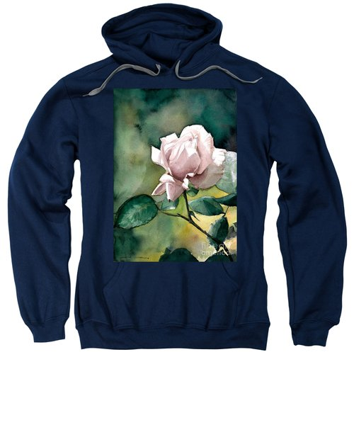 Watercolor Of A Lilac Rose  Sweatshirt