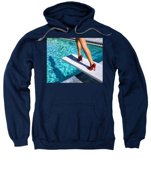 Ruby Heels Ready For Take-off Palm Springs Sweatshirt