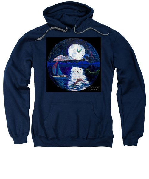 Sailing In The Moonlight Sweatshirt