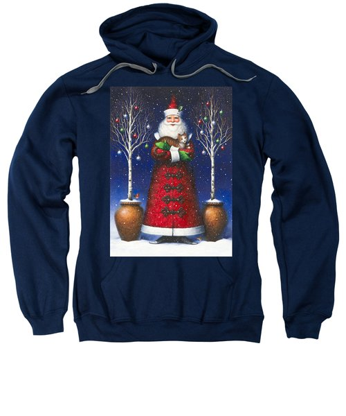 Santa's Cat Sweatshirt