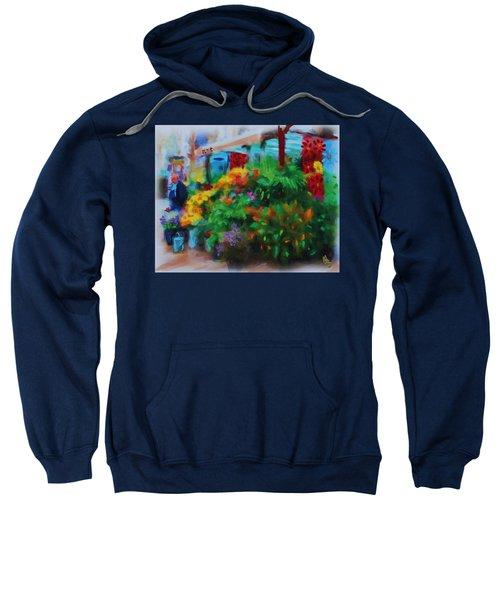 Scene From La Rambla Sweatshirt