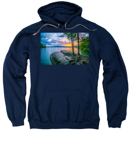 Scenery Around Lake Jocasse Gorge Sweatshirt