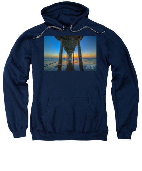 Scripps Pier Sunset Sweatshirt