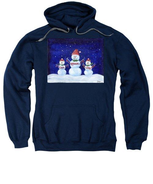 Snowmen Sweatshirt