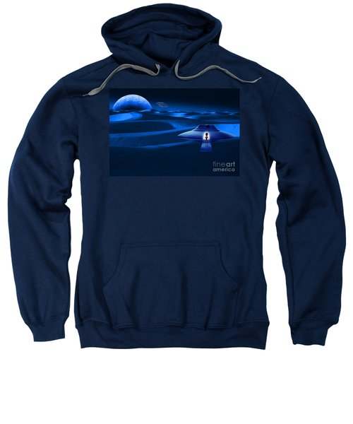 Space Landscape Sweatshirt
