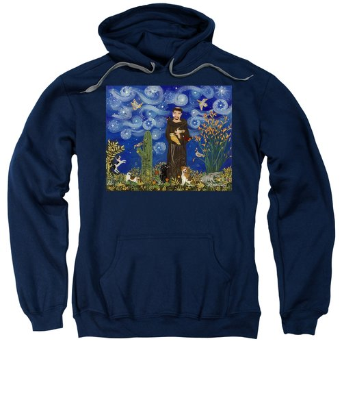 St. Francis Starry Night Sweatshirt
