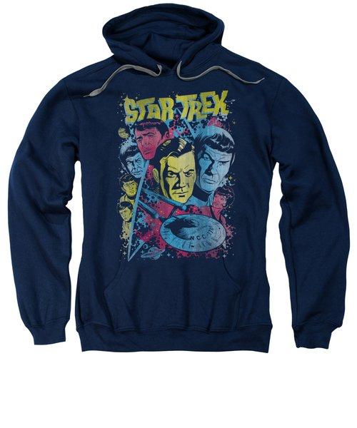 Star Trek - Classic Crew Illustrated Sweatshirt