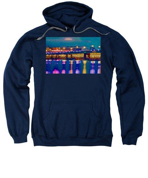 Starry Night At Nationals Park Sweatshirt