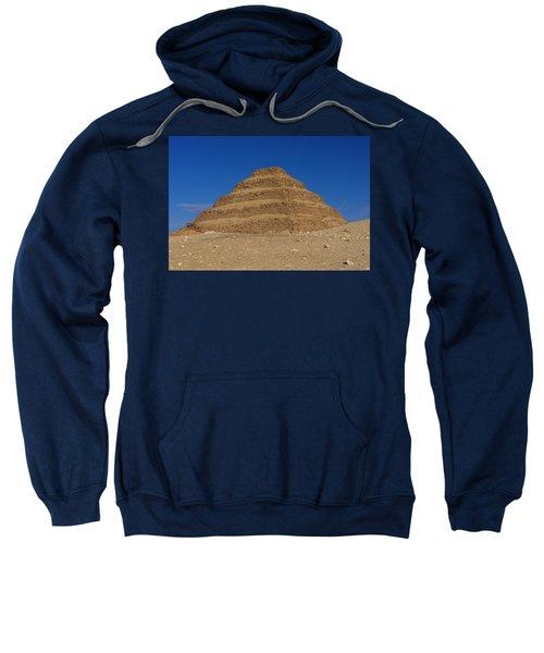 Step Pyramid Of King Djoser At Saqqara  Sweatshirt