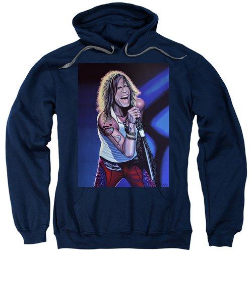 Steven Tyler 3 Sweatshirt by Paul Meijering