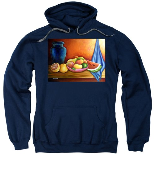 Still Life Of Fruits Sweatshirt