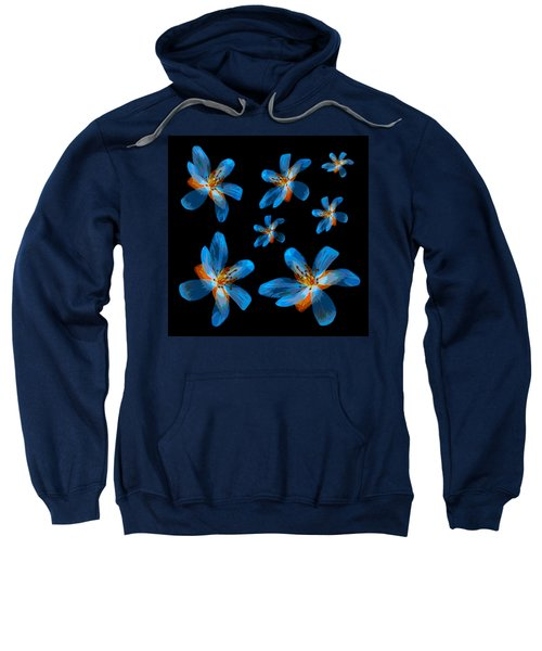 Study Of Seven Flowers #2 Sweatshirt