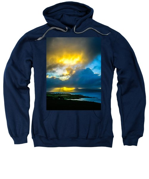 Sweatshirt featuring the photograph Sunrise Over Sheep's Head Peninsula by James Truett